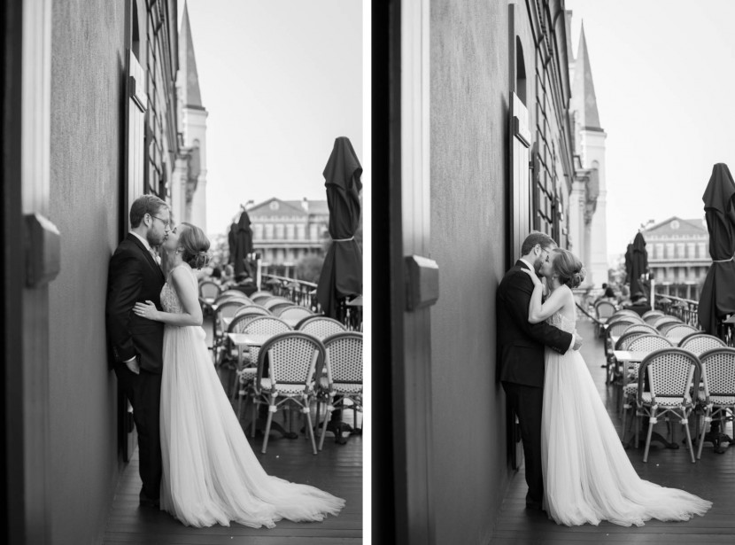 French Quarter Second Line_New Orleans Wedding Photography