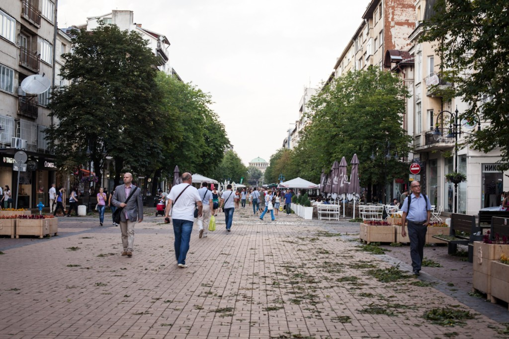 Downtown Sofia