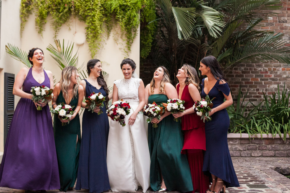 New Orleans Weddings bridesmaids
