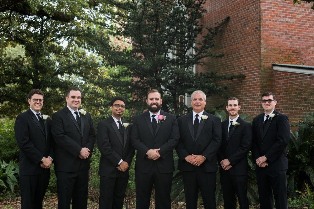 Baton Rouge Wedding Photographer Groomsmen
