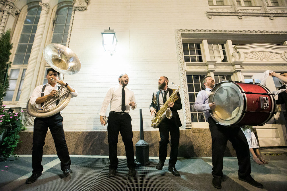 Baton Rouge Wedding Photographer Second Line