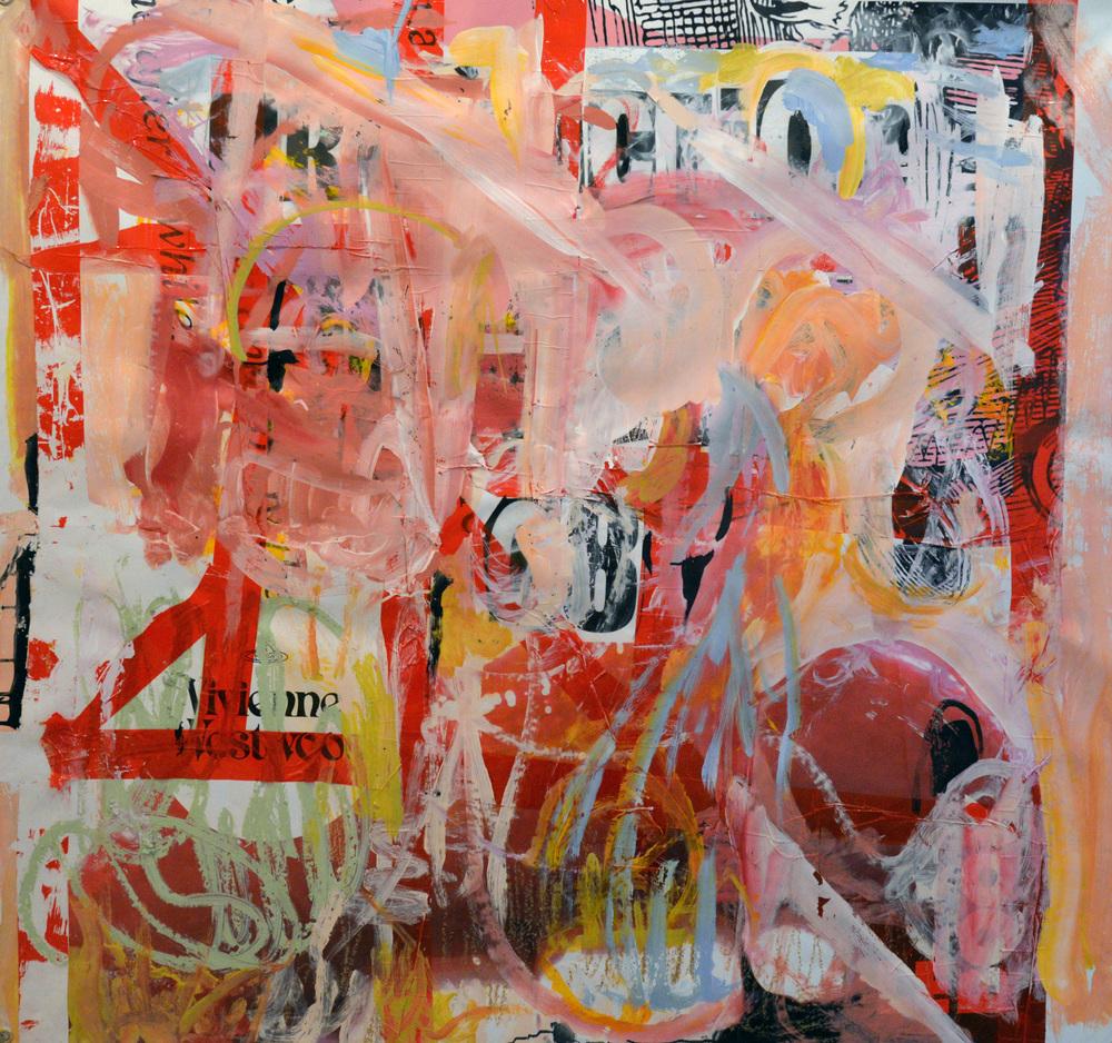 Identity, acrylic on vinyl, 2015