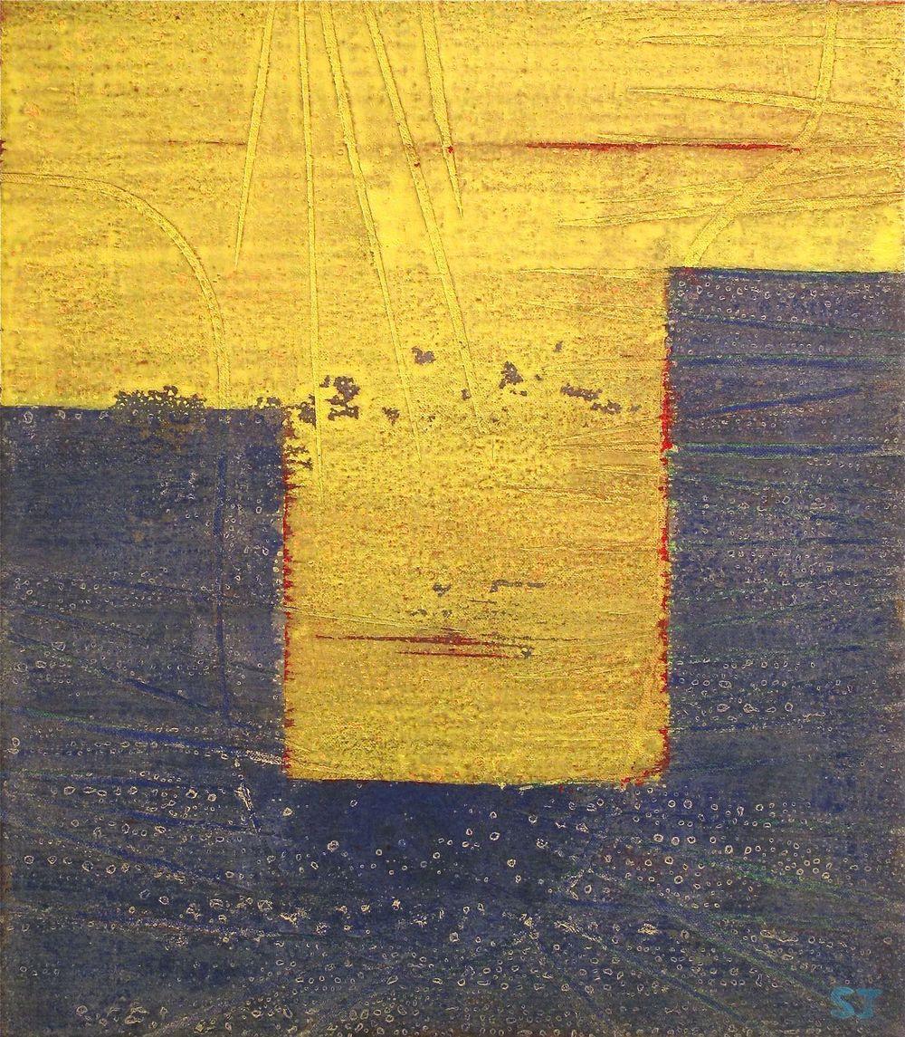 Suejin Jo, Undertow, 16 x 14.jpg