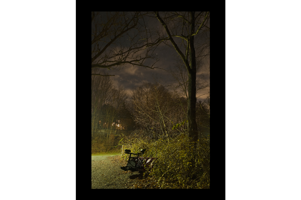 "#8031 Plow in Bushes, Bedford, NY, 2011, 26""x36"""