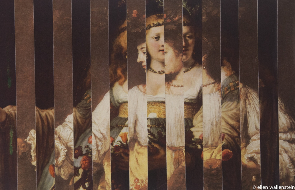 Rembrandts' Wives as Flora