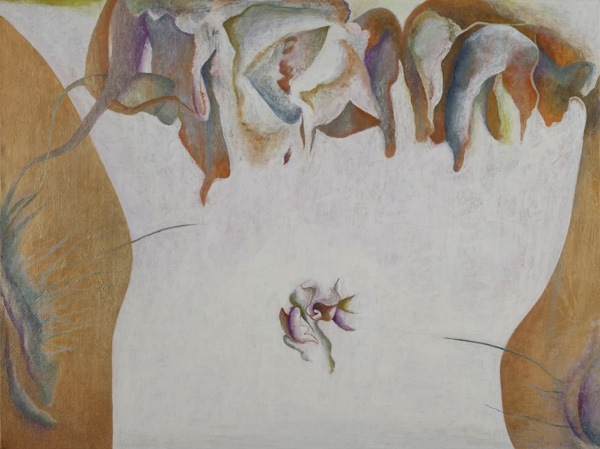 Into Blossoms, 24''x32'', acrylic on canvas, 2012
