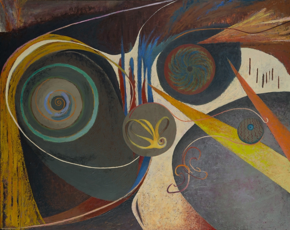 Eye and Ear, 40''x50'', acrylic on canvas, 2014