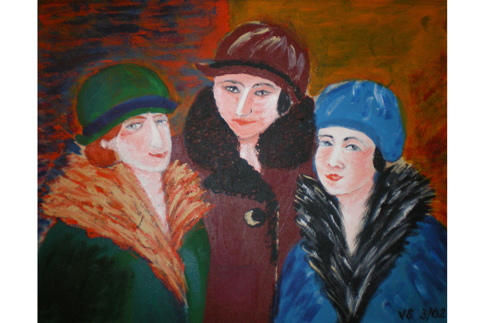2 Artist's Mother with her Friends.jpg