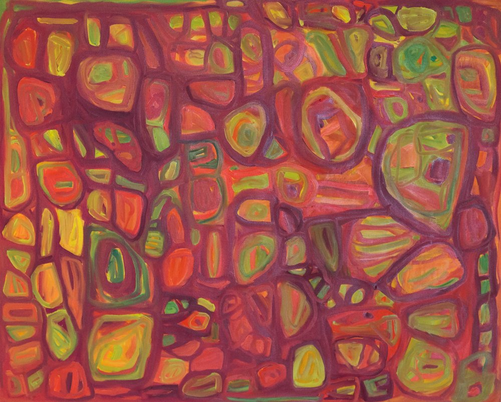 "Clio 21, Oil on canvas, 48"" x 60"", 2016"