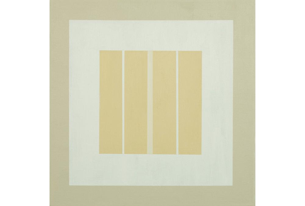 "White Sands .03, Acrylic on canvas, 20"" x 20"", 2016"