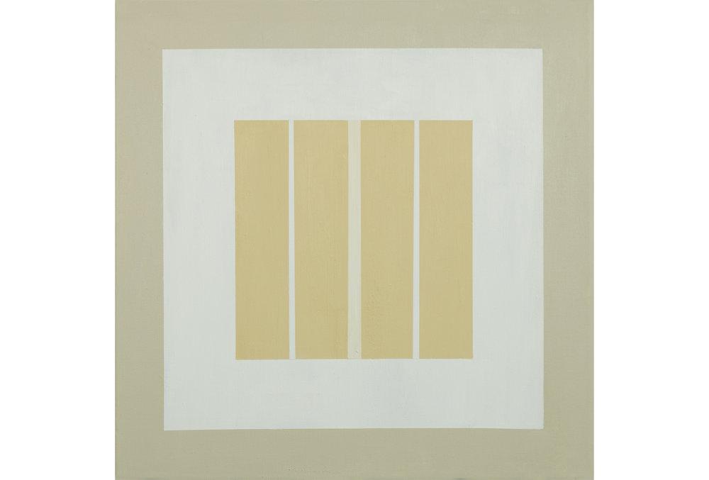 "White Sands .01, Acrylic on canvas, 20"" x 20"", 2016"