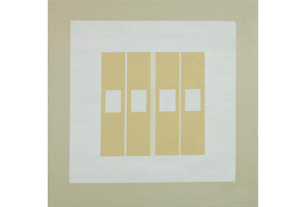 "White Sands .04, Acrylic on canvas, 20"" x 20"", 2016"