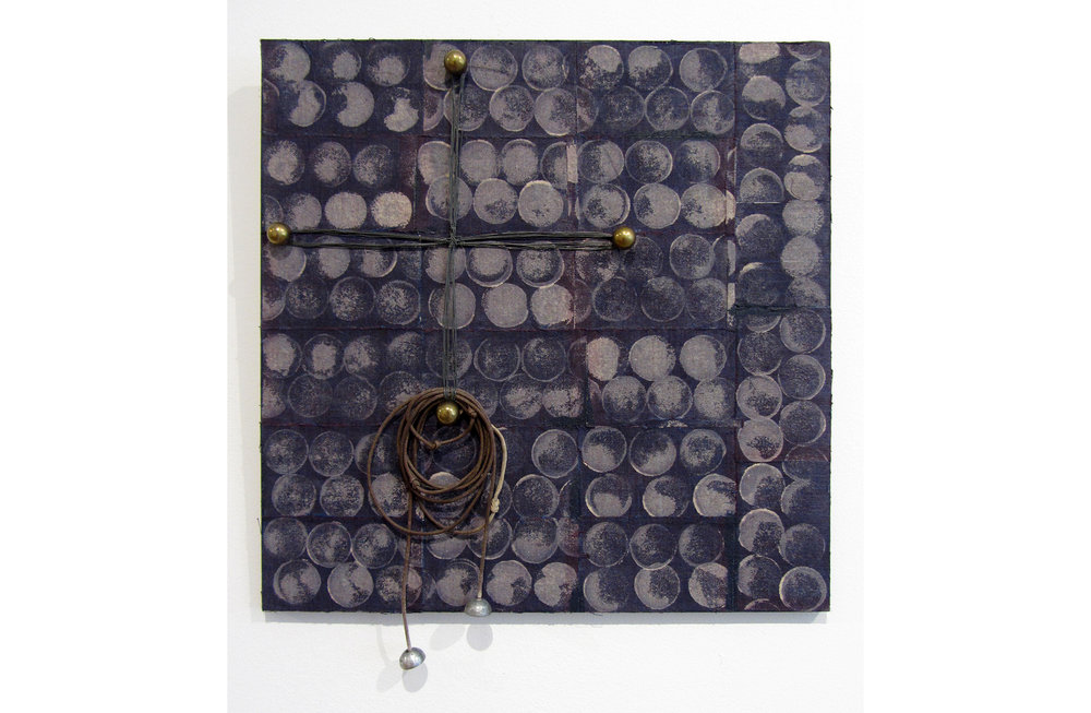 Liz Curtin, Phases of the Moon, 2017, Mixed Media, 12 x 12 inches, $300.JPG