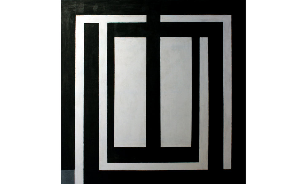 Ludwig, A Touch of Gray, 2016, Acrylic on Canvas, 35 x 35 inches, $2,500.jpg