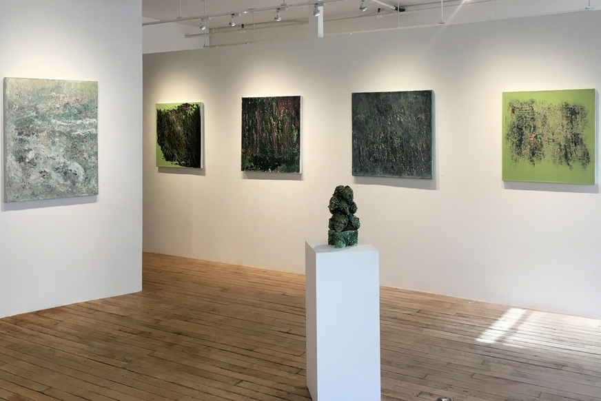 March 2 - 23, 2017 - Changing Patterns: Olivia Beens, Claire Boren, and Sylvia HarnickReflections: Joan MellonElisabeth Jacobsen: On the Wall