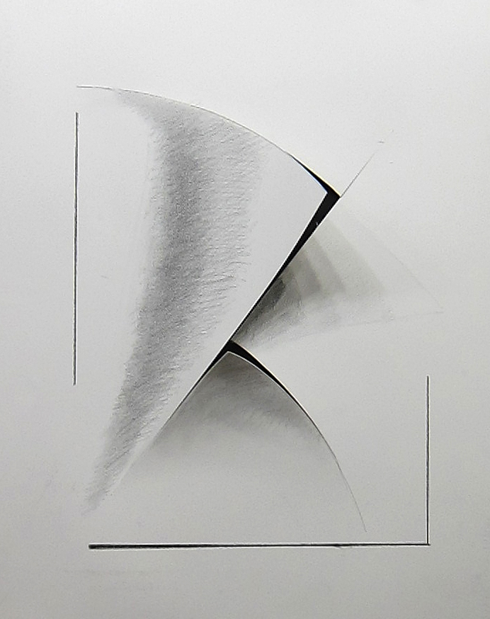 * 1.Howard Nathensoni %22Illusion drawing%22 graphite and cut paper 30%22x22%22.jpg