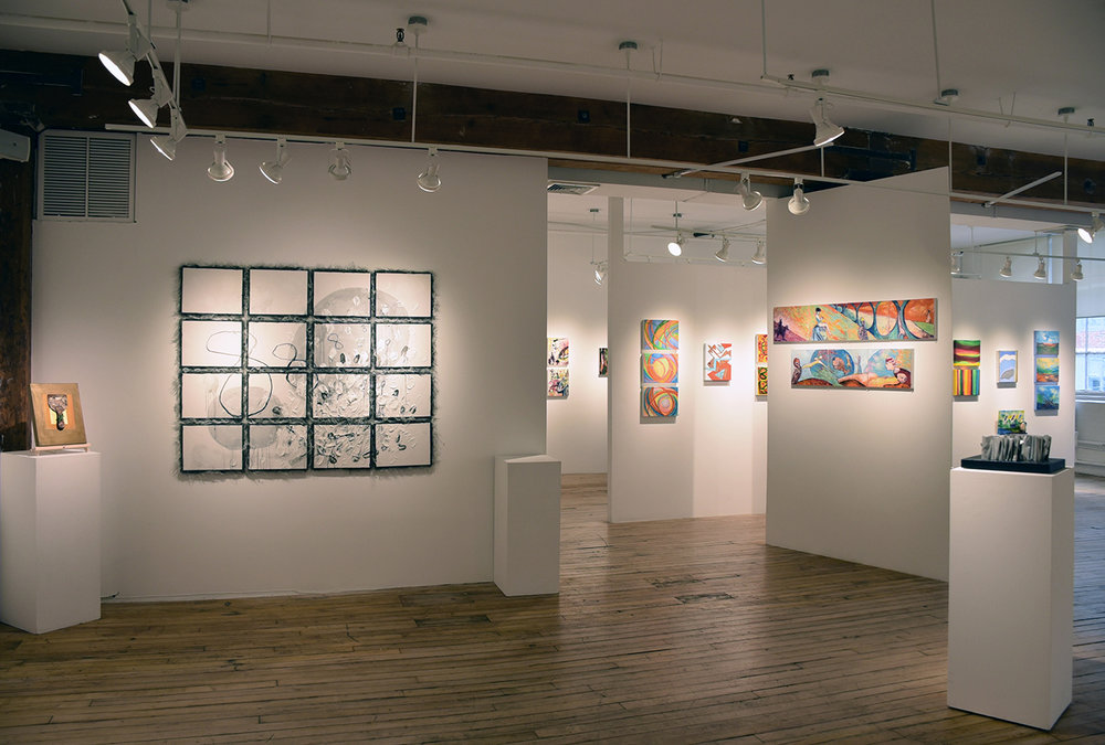 July 26 - August 16, 2018 - Small Works Show: A Group ExhibitionOn the Wall: Make Your Mark