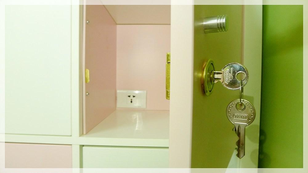 Personal locker / 可上鎖置物櫃
