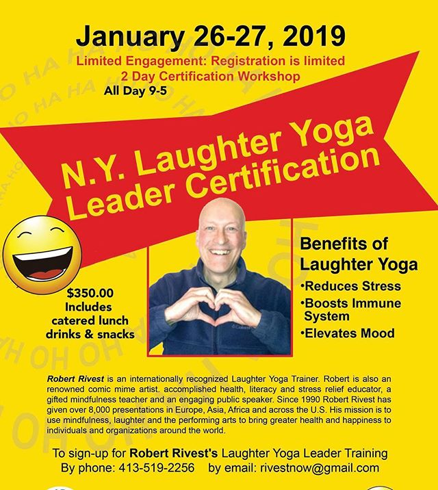 This week January 26, 27 healing Headbands, is hosting this incredible laughter yoga leader training workshop at @glenwoodlifecenter with world renowned leader @Robert Rivest  Laughter is contagious and healing sign up today! See link in bio
