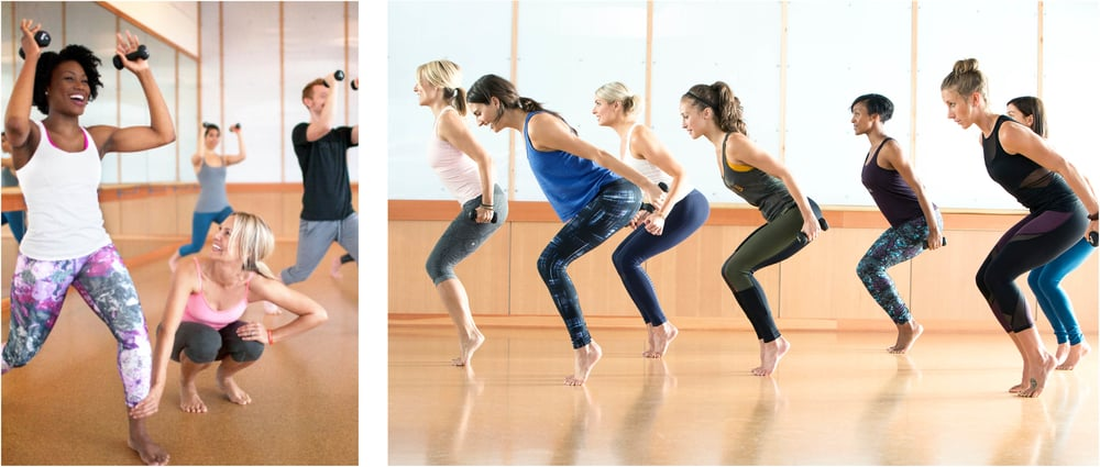 Group classes at Barre3 encourage a positive community. Photo by Rafael Astorga