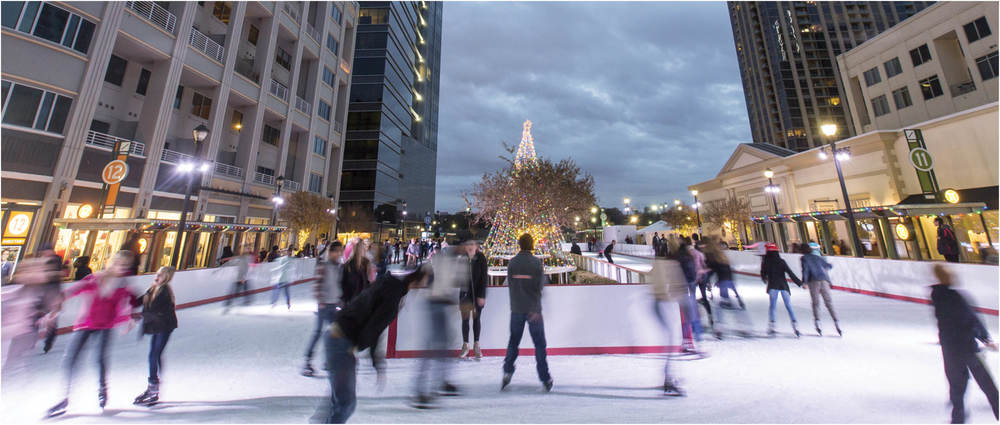 Ice skating is an ideal winter date!