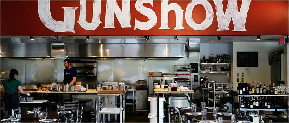 GUNSHOW. Photo by Angie Mosier.