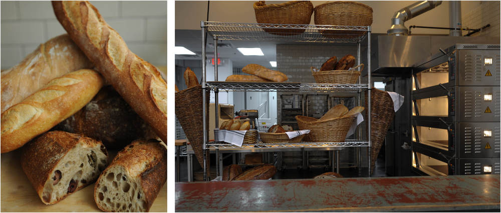 THE GENERAL MUIR: Fresh bread on display. Photos by Becky Stein.