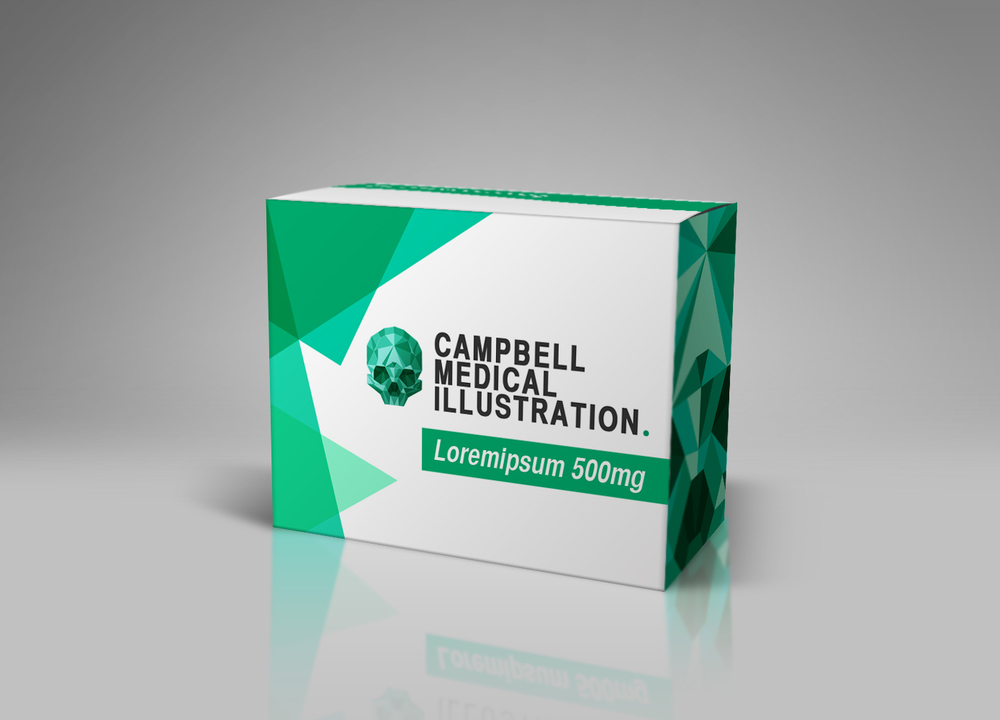 Pharmaceutical_Packaging_Mockup_Campbell_Medical_Illustration_01