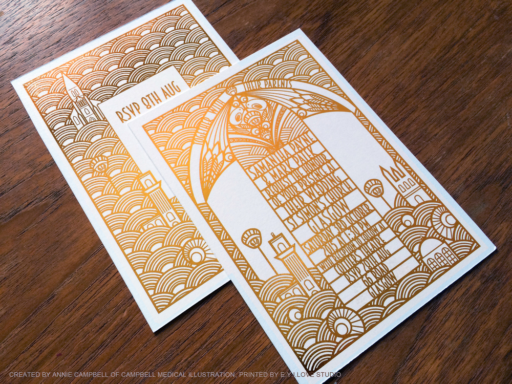 Gold_Press_Cottiers_Glasgow_Art_Deco_Wedding_Invitation_and_RSVP_Closeup.jpg