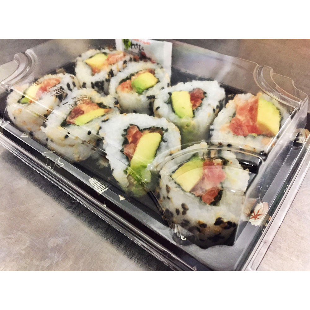 8 x SPICY TUNA ROLLS - £6.50