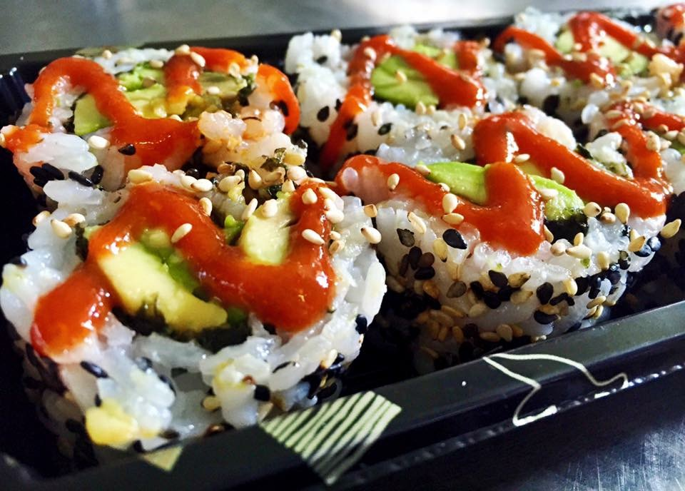 Spicy Avocado Rolls - £5