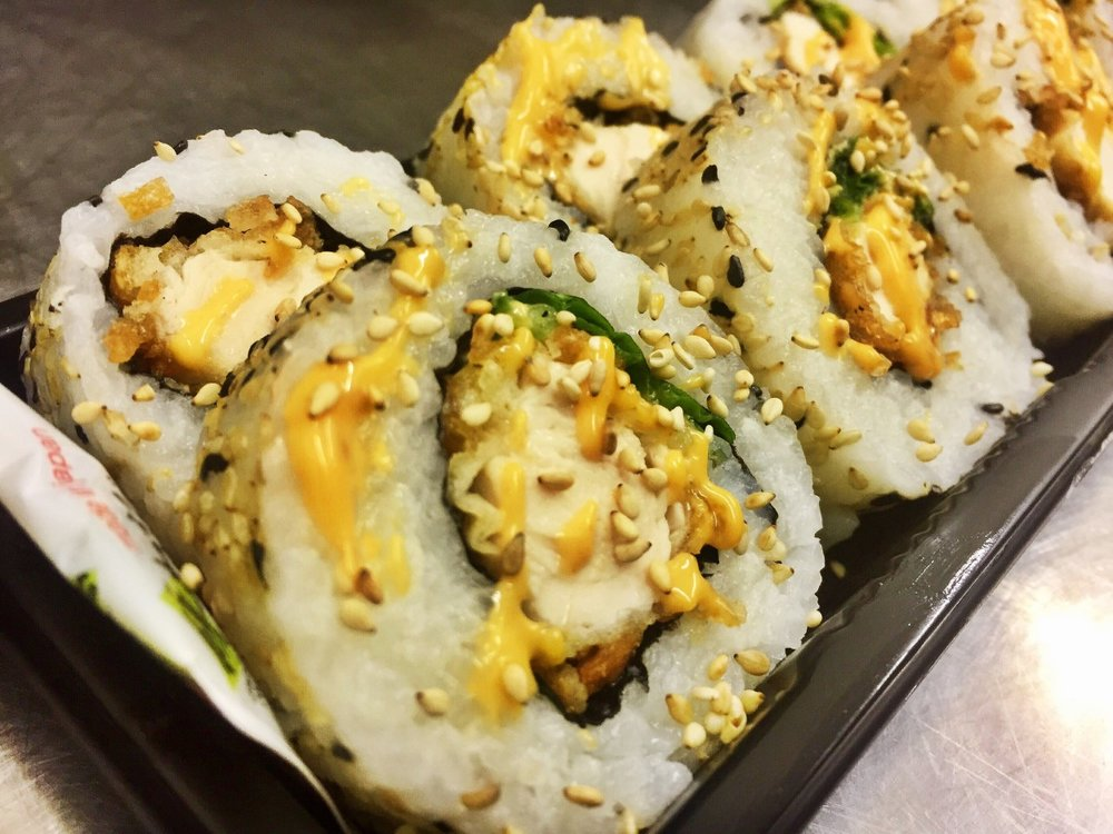 Chicken Katsu Roll with Spicy Mayo - £6