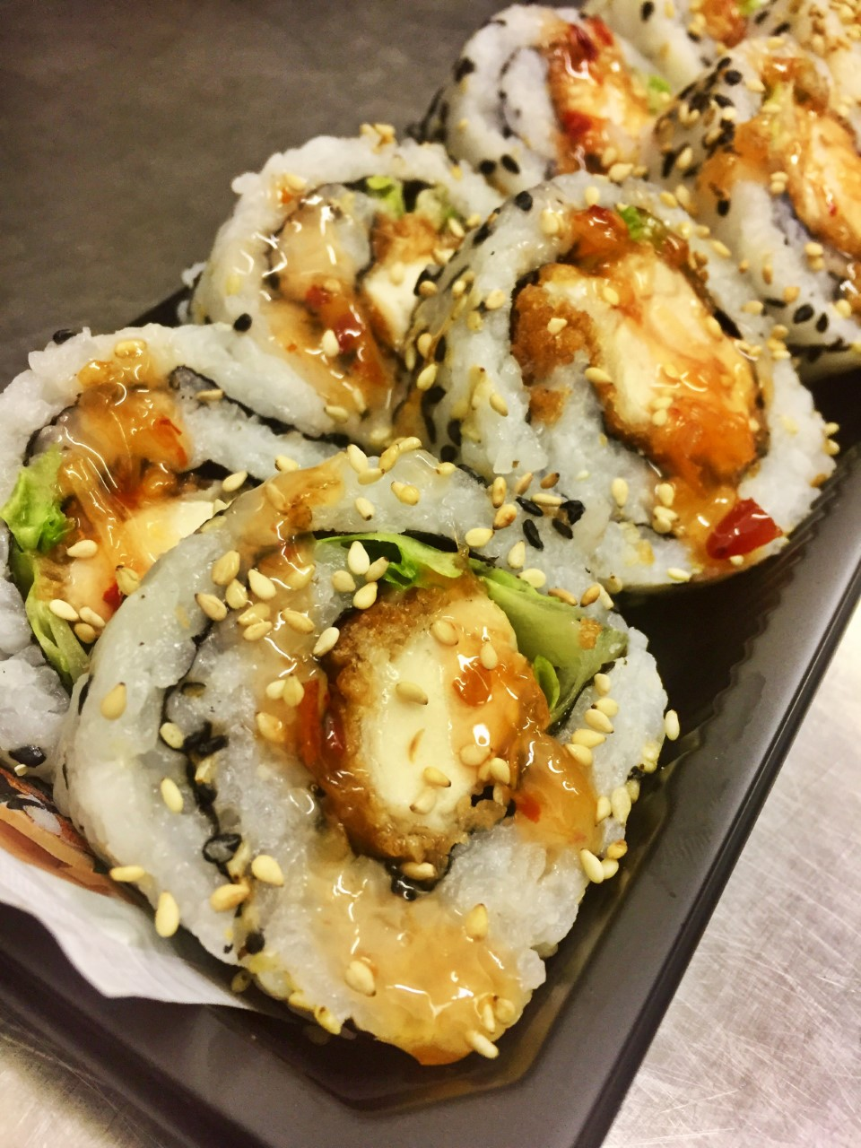 Chicken Katsu Roll with Sweet Chili - £6