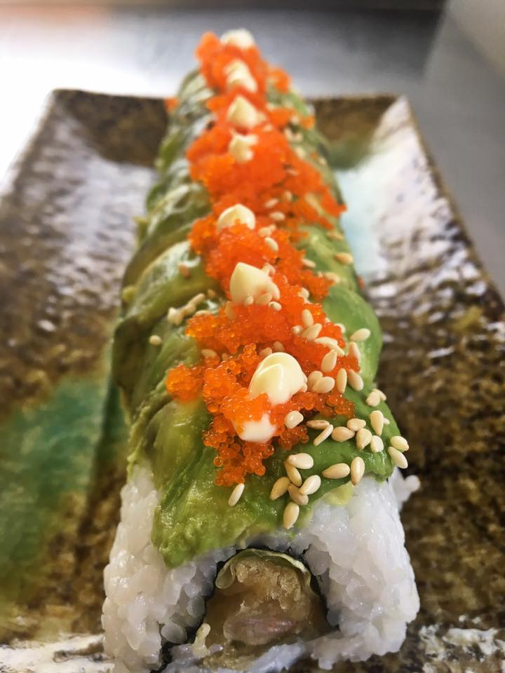 Deluxe Caterpillar Roll - £7