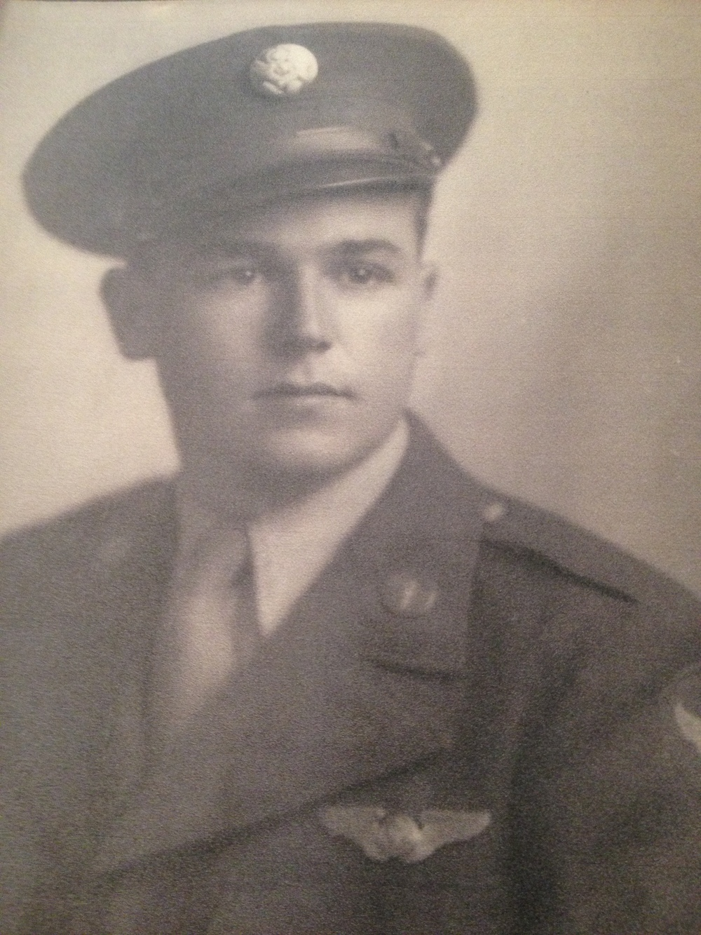 Staff Sergeant Bud Dunn.  Photo courtesy of Larry Dunn.