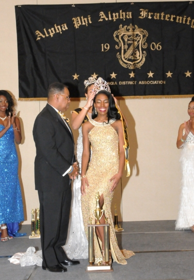 Miss Black and Gold Georgia crowning, GA District Conference 2014