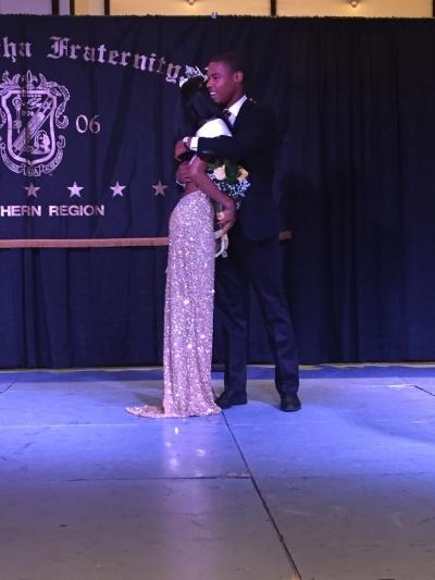 My life escort. (Alpha Southern Regional Pageant, Orlando 2015)