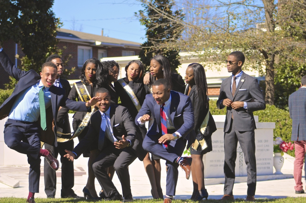 Crazy and sometimes quite dysfunctional, but always loving. Proud to know them. (Alpha Rho, Morehouse College)