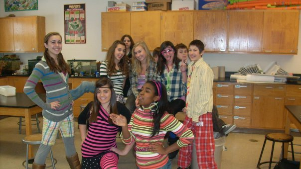 Spirit week at the private school that I attended for my last year of middle school and 9th grade. I left before entering my sophomore year of high school.