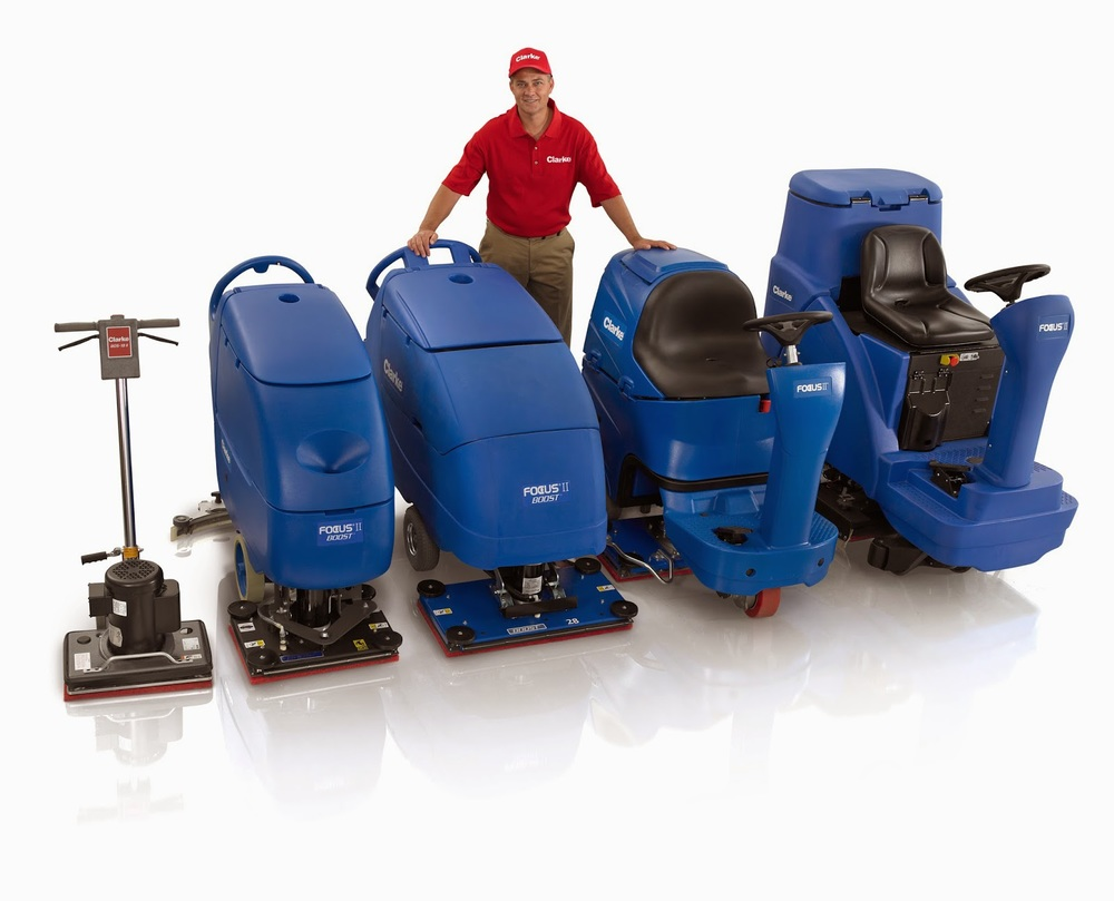 Scrubbers. Associated Cleaning Equipment