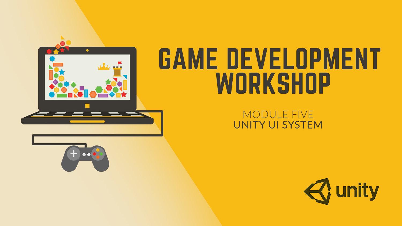 Game Development Workshop - Unity's UI System — Peg Jam