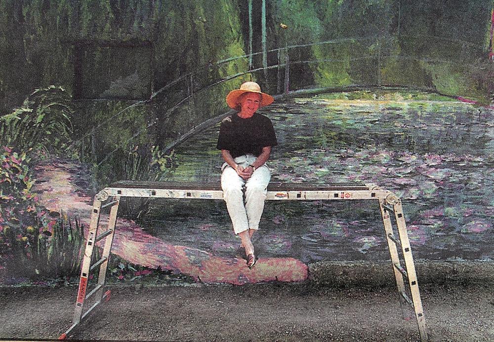 Water Lilies Monet Mural