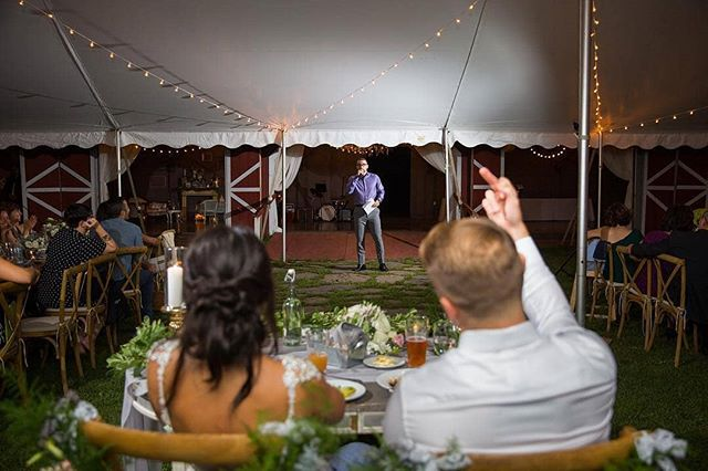🤣🤣🤣 I forgot what @johnsween87 said but this was well deserved.  Regrann from @lbfphoto -  Tough crowd 😂 . . . #barnwedding #weddingphotography #weddingphoto #bride #groom #weddinginspo #fallwedding #shesaidyes #weddingday #weddingdress #weddingwire #theknot #scenicwedding #bridalmakeup #tyingtheknot #nycphotographer #love #weddinggown #weddingdetails #ido #weddingplanning #pinterestwedding #couplegoals #photooftheday #dirtybootsandmessyhair #loveisintheair #mrandmrs #littlethingstheory #radcouples