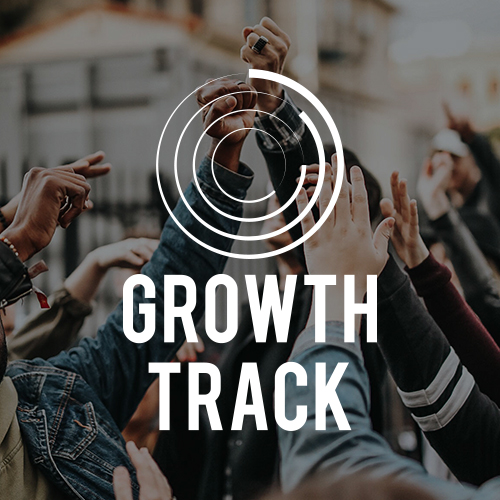 "GROWTH TRACK   Growth Track is an essential part of our ""Next Steps""!  Comprised of 4 short classes, the Growth Track is designed to help you learn more about Zoe, discover your gifts (personally and spiritually) and how you can use those gifts for God by joining our Zoe Serve Team!"