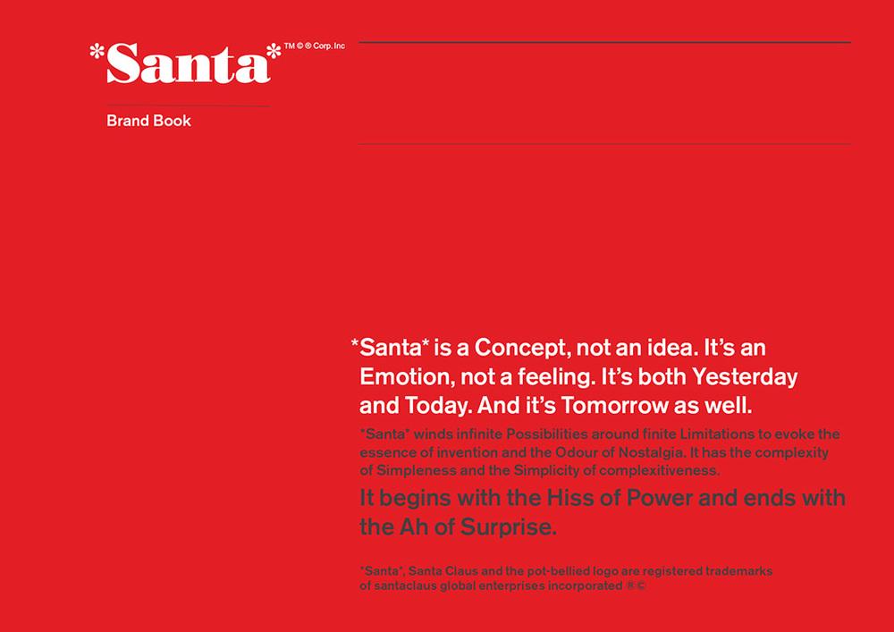Santa's Brand Book