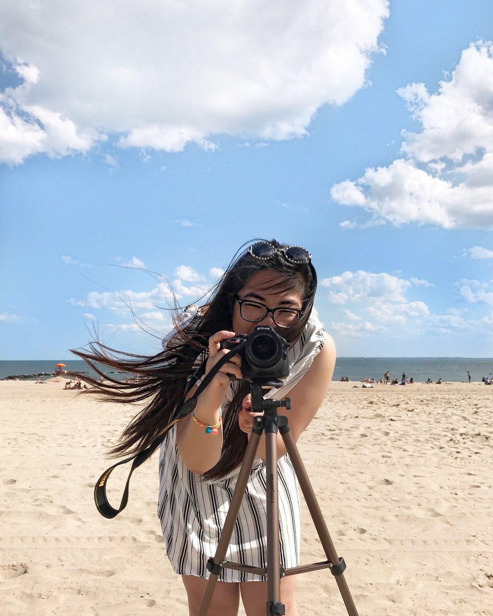 Our team's super cute photographer,  Jennifer Ha Tang !