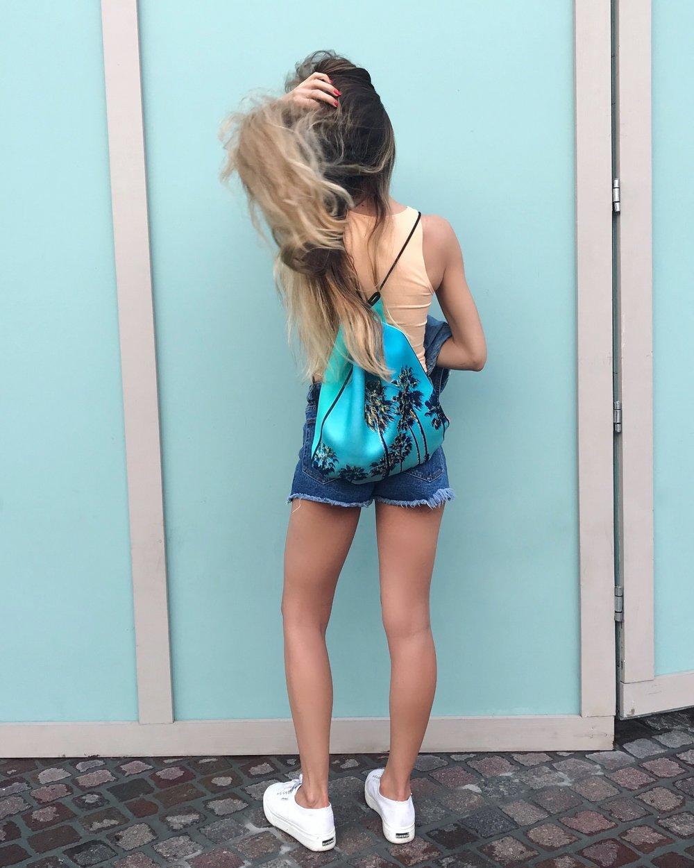 At Disney Springs / Wearing  MyTagalongs