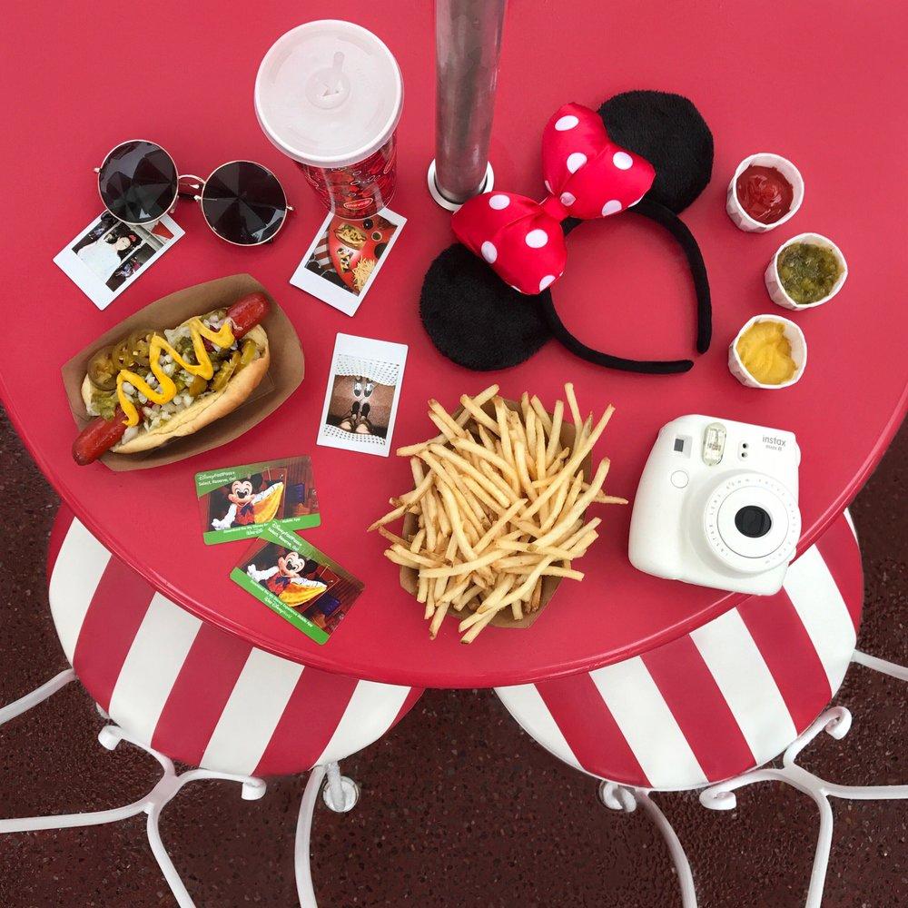 Park hopping essentials, also #DisneyFlatlay