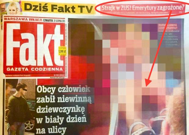 November 13, 2015: Fakt magazine