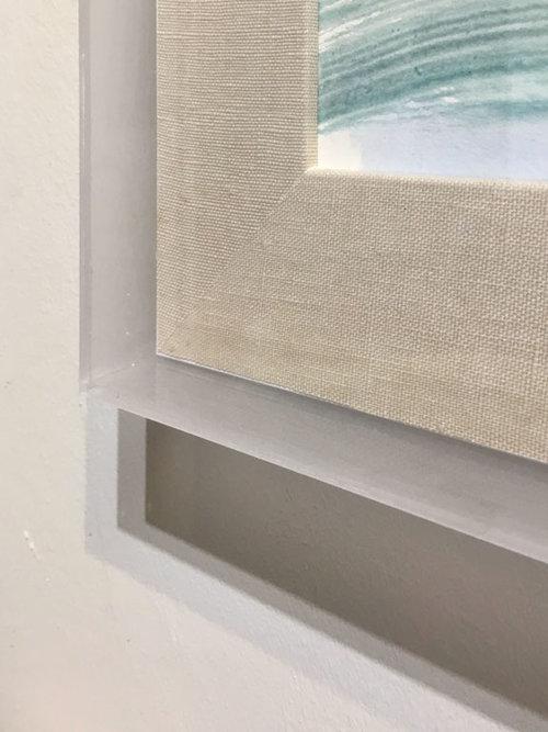22 X 28 Acrylic Box Frame For 18x24 Artwork Tom Wise